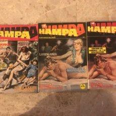 Cómics: LOTE DE 5 COMICS HAMPA. Lote 118404492