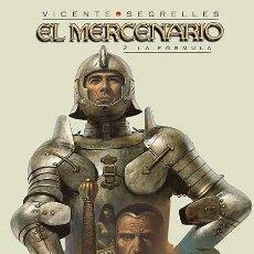 Cómics: EL MERCENARIO ; VOL. 2. LA FORMULA VICENTE SEGRELLES. Lote 118425787