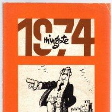 Cómics: MINGOTE. TIRAS COMICAS. 1974. EDICIONES MYR, AÑO 1975. Lote 118538459