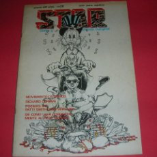 Cómics: CÓMIC UNDERGROUND STAR Nº 20 COMIX Y PRENSA MARGINAL 60 PÁGS. 1976 BUEN ESTADO. MUY COMPLETA. Lote 118604527
