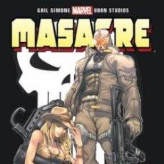 Cómics: MASACRE: ¿QUIÉN ES EL AGENTE X?. (OFERTA). Lote 118626167