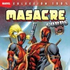 Cómics: MASACRE CORPS - MASACREPOCALIPSIS NOW (100% MARVEL) . (OFERTA). Lote 118626639