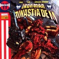 Cómics: IRON MAN: DINASTÍA DE M . (OFERTA) AGOTADISIMO. Lote 118627139