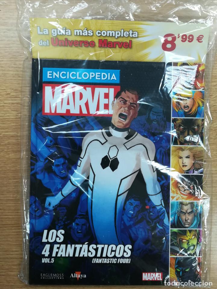 ENCICLOPEDIA MARVEL #38 4 FANTASTICOS #5 (ALTAYA) (Tebeos y Comics Pendientes de Clasificar)