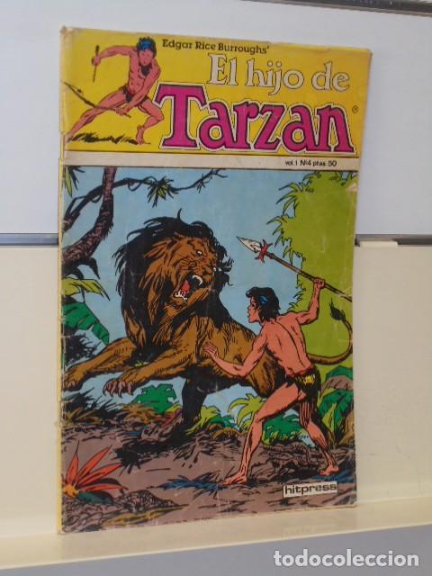 EL HIJO DE TARZAN VOL. 1 Nº 4 - HITPRESS (Tebeos y Comics - Comics otras Editoriales Actuales)