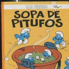Cómics: LOS PITUFOS VOLUMEN 11: SOPA DE PITUFOS. Lote 55662369