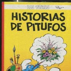Cómics: LOS PITUFOS VOLUMEN 09: HISTORIAS DE PITUFOS. Lote 55662372