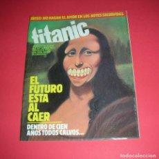 Cómics: REVISTA TITANIC Nº 3 EL FUTURO ESTA AL CAER REVISTA DE HUMOR ED. EL JUEVES 1983 .. Lote 118865827