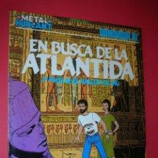 Cómics: METAL HURLANT EN BUSCA DE LA ATLANTIDA. 2ª PARTE DE EL HALCON DE MU Nº 11 .NUEVO . ENVÍO GRATIS. Lote 118867863