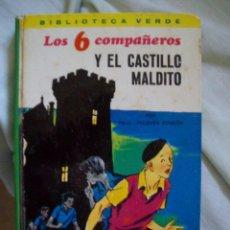 Cómics: LOS 6 COMPAÑEROS Y EL CASTILLO MALDITO BIBLIOTECA VERDE Nº 1 EDICIONES LAIDA EDITORIAL FHER. Lote 118881059