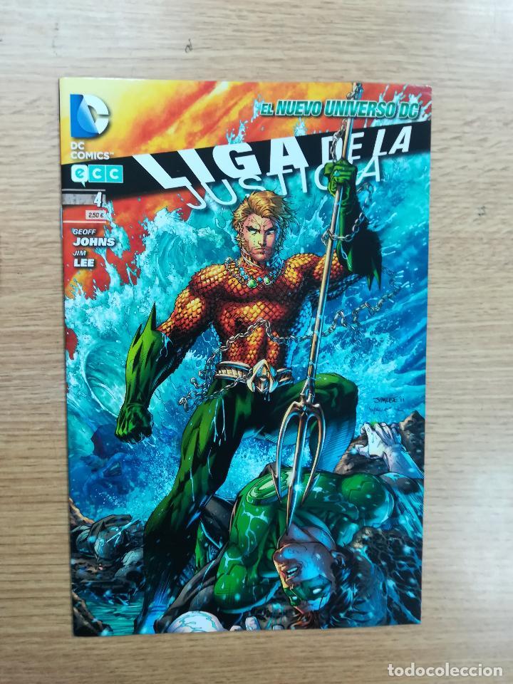 LIGA DE LA JUSTICIA #4 (ECC EDICIONES) (Tebeos y Comics - Comics otras Editoriales Actuales)