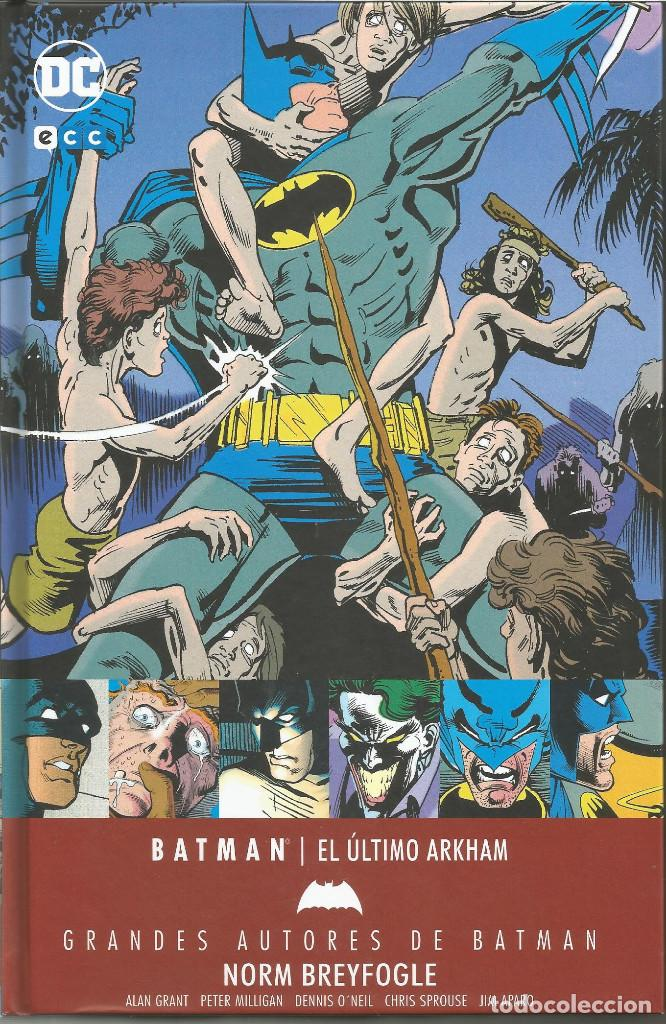 GRANDES AUTORES DE BATMAN: NORM BREYFOGLE EL ÚLTIMO ARKHAM ECC EDICIONES (Tebeos y Comics - Comics otras Editoriales Actuales)