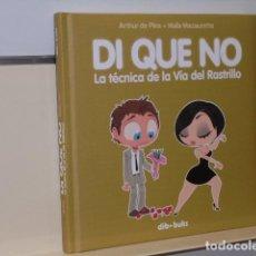 Cómics: DI QUE NO LA TECNICA DE LA VIA DEL RASTRILLO - DIBBUKS - OFERTA. Lote 119123343