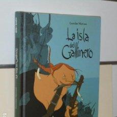 Cómics: LA ISLA DEL GALLINERO LAURELINE MATTIUSSI - DIBBUKS - OFERTA. Lote 119123567