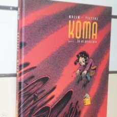 Cómics: KOMA TOMO 6 EN EL PRINCIPIO WAZEM - PEETERS - DIBBUKS - OFERTA. Lote 119125759
