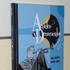 Cómics: ACORDES Y DESACUERDOS REGIS HAUTIERE & ANTONIO LAPONE - DIBBUKS - OFERTA. Lote 119126727