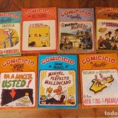 Cómics: 7 COMICICLO DE FORGES Nº 19,20,21, 24,25,26,27. Lote 119168151