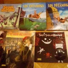 Cómics: VARIOS SLUM NATION LOS POTAMOKS TWISTY TALES VUELO CUERVO. Lote 119258074