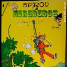 Cómics: LAS AVENTURAS DE SPIROU Y FANTASIO. SPIROU Y LOS HEREDEROS. SEPP MUNDIS. Lote 119275859