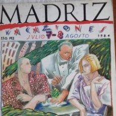 Cómics: MADRIZ 7/8. Lote 119329351