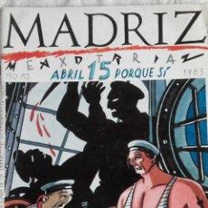Cómics: MADRIZ 15. Lote 119330631