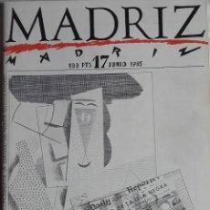 Cómics: MADRIZ 17. Lote 119331559