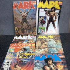 Cómics: MARK 2000, COLECCION COMPLETA DE 8 EJEMPLARES. Lote 119338019