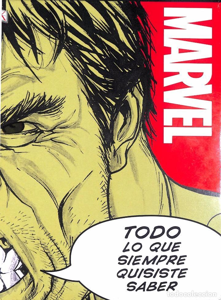 MARVEL - TODO LO QUE SIEMPRE QUISISTE SABER (Tebeos y Comics Pendientes de Clasificar)