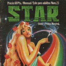 Cómics: REVISTA STAR COMIX Y PRENSA MARGINAL - Nº 23. Lote 119708835