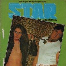 Cómics: REVISTA STAR COMIX Y PRENSA MARGINAL - Nº 33. Lote 119709847