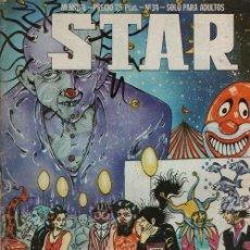 Cómics: REVISTA STAR COMIX Y PRENSA MARGINAL - Nº 32. Lote 170937979