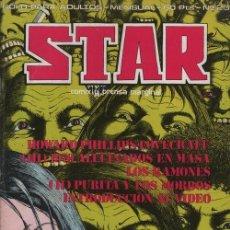 Cómics: REVISTA STAR COMIX Y PRENSA MARGINAL - Nº 25 PORTADA NAZARIO. Lote 170938050