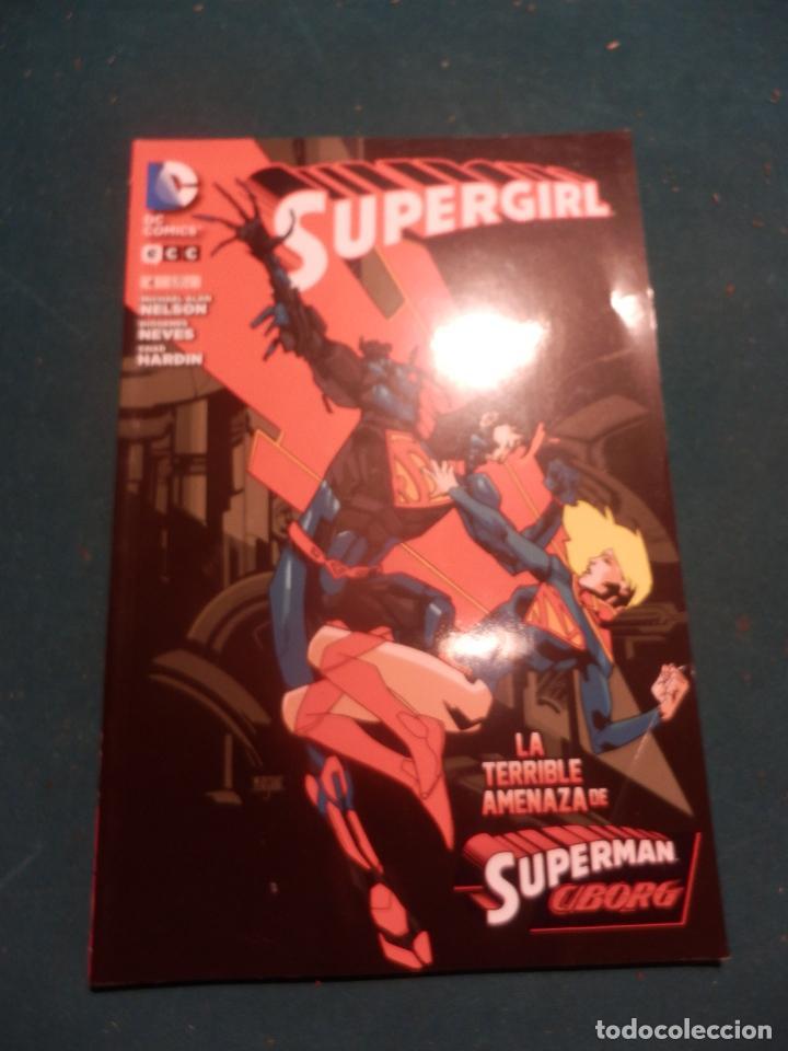 SUPERGIRL Nº 4 - LA TERRIBLE AMENAZA DE SUPERMAN CIBORG - COMIC - DC COMICS / ECC 2014 (Tebeos y Comics - Comics otras Editoriales Actuales)
