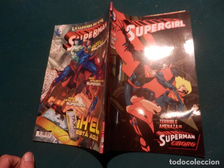 Cómics: SUPERGIRL Nº 4 - LA TERRIBLE AMENAZA DE SUPERMAN CIBORG - COMIC - DC COMICS / ECC 2014 - Foto 3 - 119836839