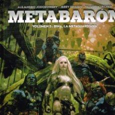 Cómics: METABARÓN ,RINA LA METAGUARDIANA.VOL. 5.YERMO EDICIONES. Lote 119848927