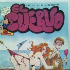 Cómics: EL CUERVO.TOMO XIX.NUMEROS DEL 89 AL 92.EDITORIAL IRU.1988.. Lote 119862986