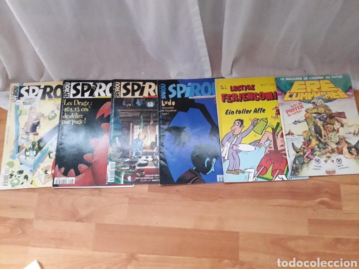 LOTE 6 CÓMICS EN FRANCÉS AÑOS 90 (Tebeos y Comics - Comics Colecciones y Lotes Avanzados)