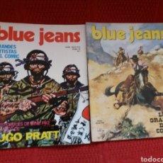 Cómics: BLUE JEANS LOS GRANDES DEL CÓMIC N. 1 Y 5. Lote 119930867
