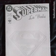Cómics: SUPERMAN LA BODA. Lote 119976903