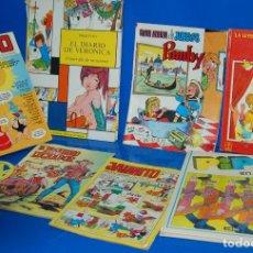 Cómics: LOTE DE COMICS Y CUENTOS INFANTILES DESCATALOGADOS AÑOS 70/80 COLECCIONISMO. Lote 120271507