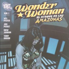 Cómics: COMIC- WONDER WOMAN EL ATAQUE DE LAS AMAZONAS Nº 1 DC COMICS PLANETA DEAGOSTINI. Lote 120295927