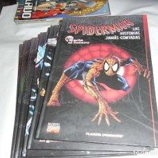Cómics: SPIDERMAN, LAS HISTORIAS JAMAS CONTADAS, FASCICULOS 1 AL 6, PLANETA AGOSTINI. Lote 120389571