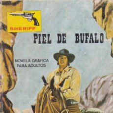Cómics: SHERIFF - PIEL DE BUFALO - EDITORIAL VILMAR 1979. Lote 120397815