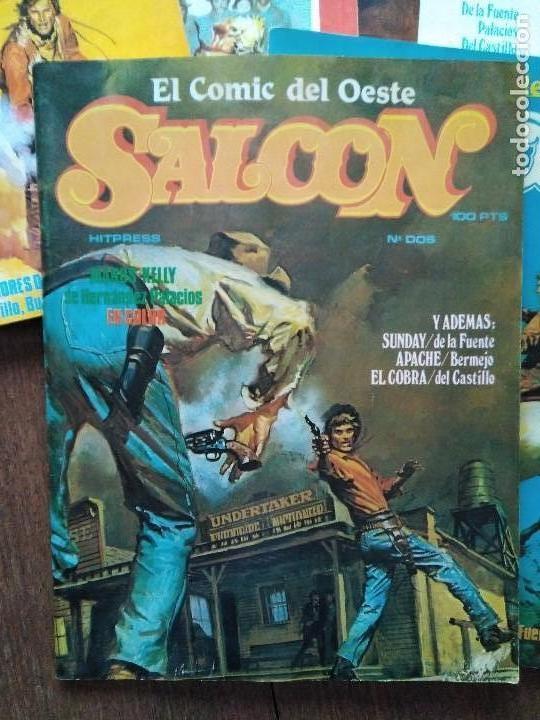 Cómics: SALOON COMPLETA 9 EJEMPLARES - Foto 6 - 120488403