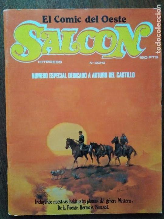Cómics: SALOON COMPLETA 9 EJEMPLARES - Foto 9 - 120488403