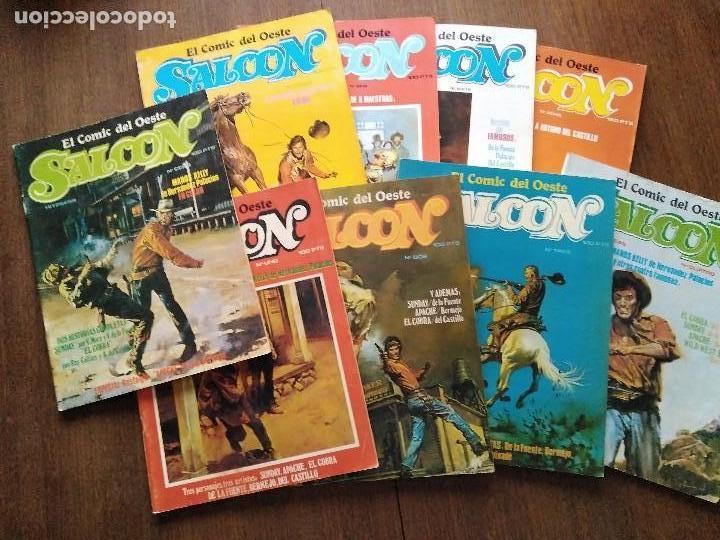SALOON COMPLETA 9 EJEMPLARES (Tebeos y Comics - Comics otras Editoriales Actuales)
