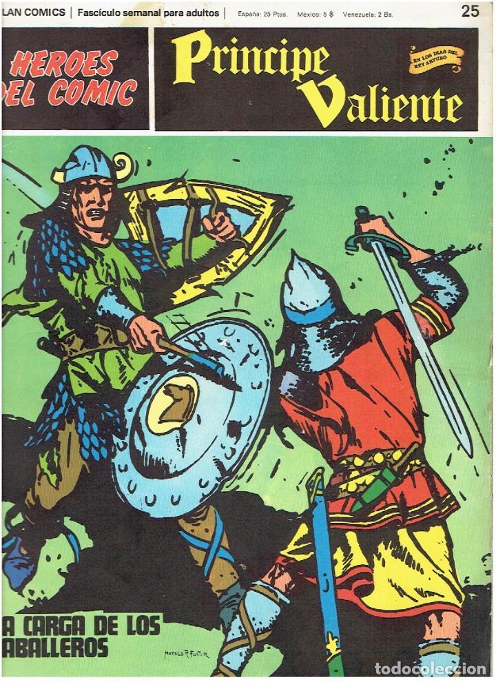FASCÍCULOS SUELTOS DE LA COLECCIÓN, DEL 25 AL 30 (Tebeos y Comics - Buru-Lan - Principe Valiente)