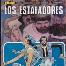 Cómics: LOS ESTAFADORES. Lote 120543879