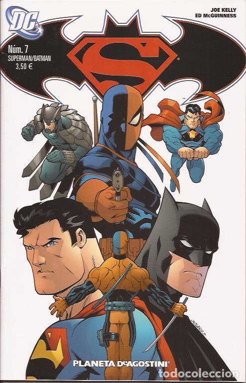 COMIC- SUPERMAN BATMAN Nº 7 DC COMICS PLANETA (Tebeos y Comics Pendientes de Clasificar)