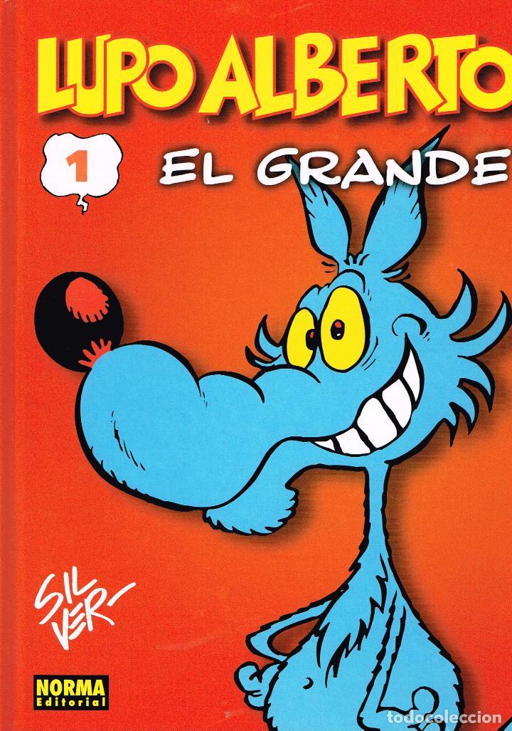LUPO ALBERTO,EL GRANDE.1.SE LAS SABE TODAS.NORMA EDITORIAL. (Tebeos y Comics Pendientes de Clasificar)